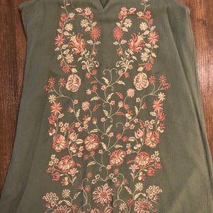 Francesca's Collections Dresses - Sage Green Dress